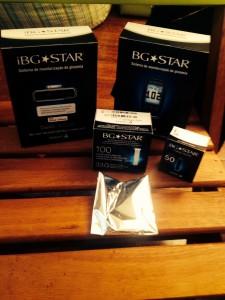 BGStar e o iBGStar ! Esse foi o kit que ganhamos :)