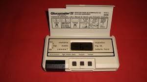 Meu primeiro glicosímetro, no início dos anos 80